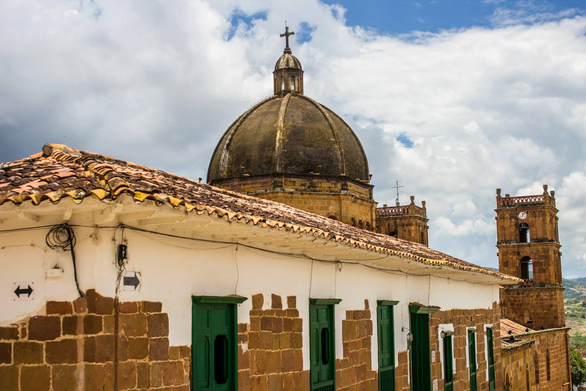 Free stock photo of barichara, church, city, colombia
