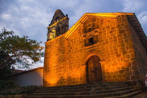 Free stock photo of barichara, church, city