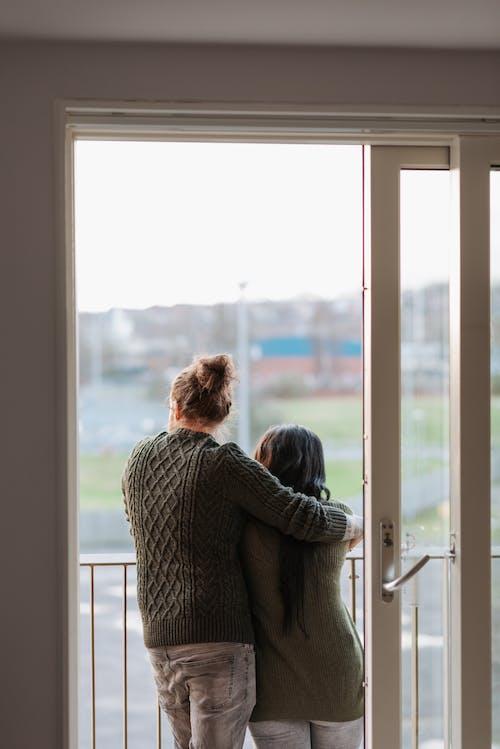 Kostenloses Stock Foto zu anonym, anonymous, balkon