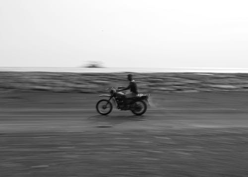 Free stock photo of africa, bnw, motorcycle