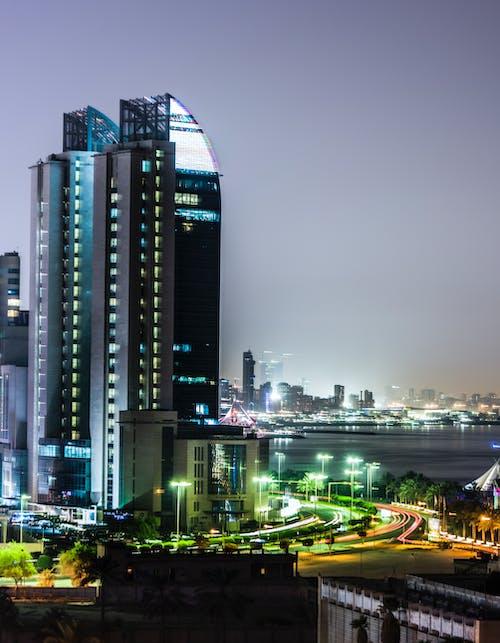 Gratis lagerfoto af by, golfbane, kuwait, nat