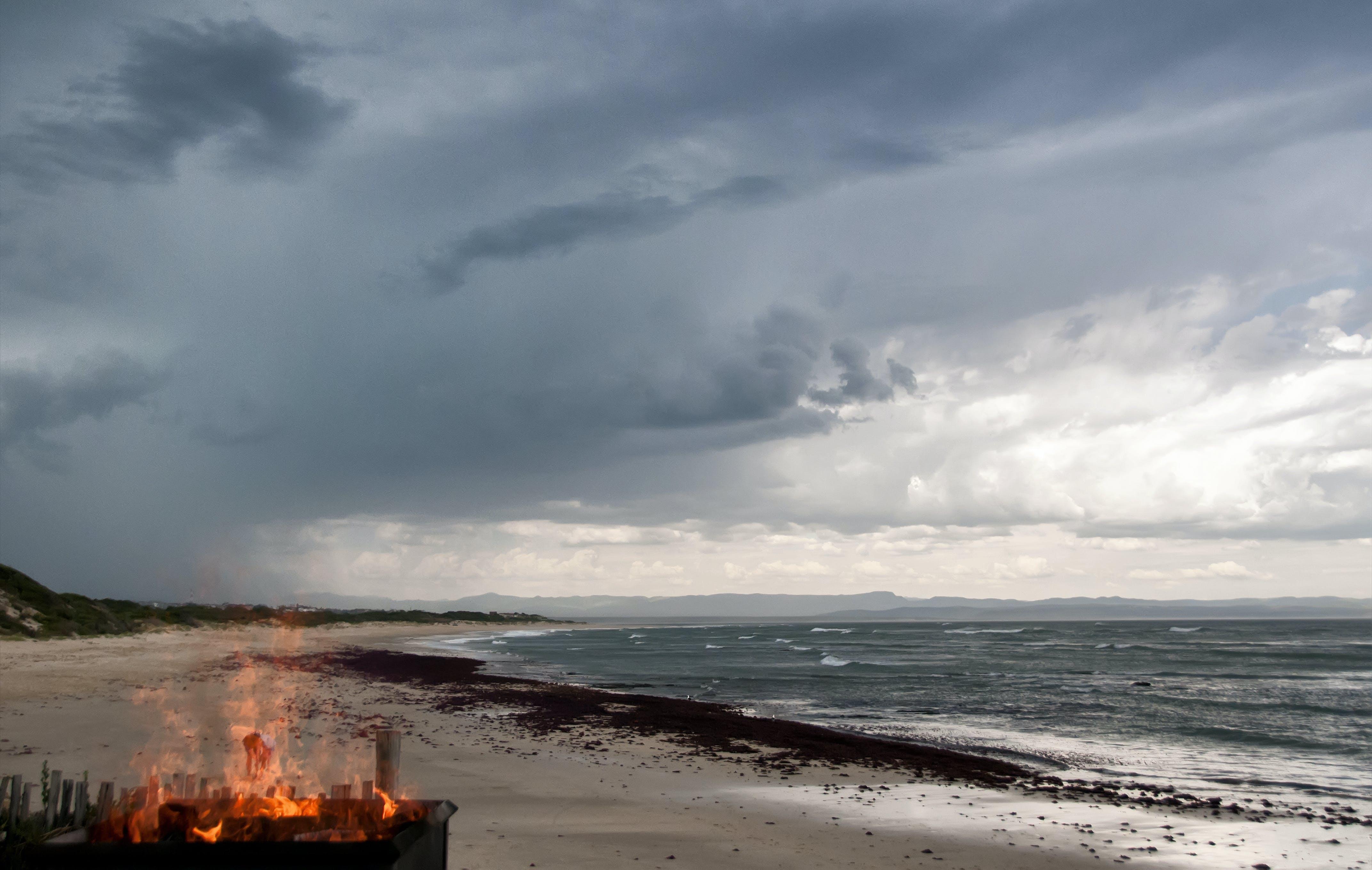 Free stock photo of africa, beach, beach wedding, fire