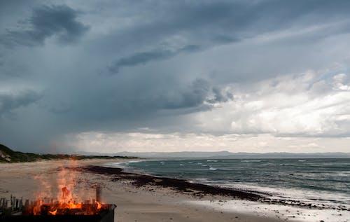 Gratis lagerfoto af afrika, brand, bølger, hav