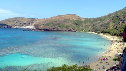 Darmowe zdjęcie z galerii z góry, hawaje, lato, plaża