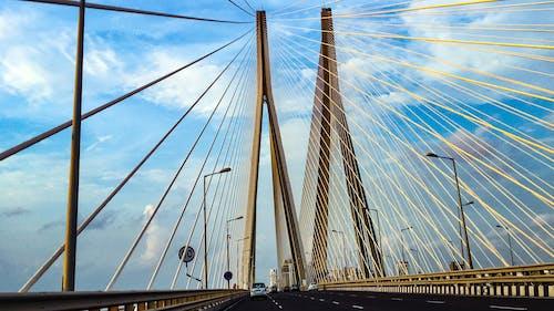 Free stock photo of bridge, off road, sea