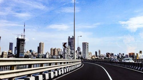 Fotos de stock gratuitas de acero, arquitectura, asfalto, autopista