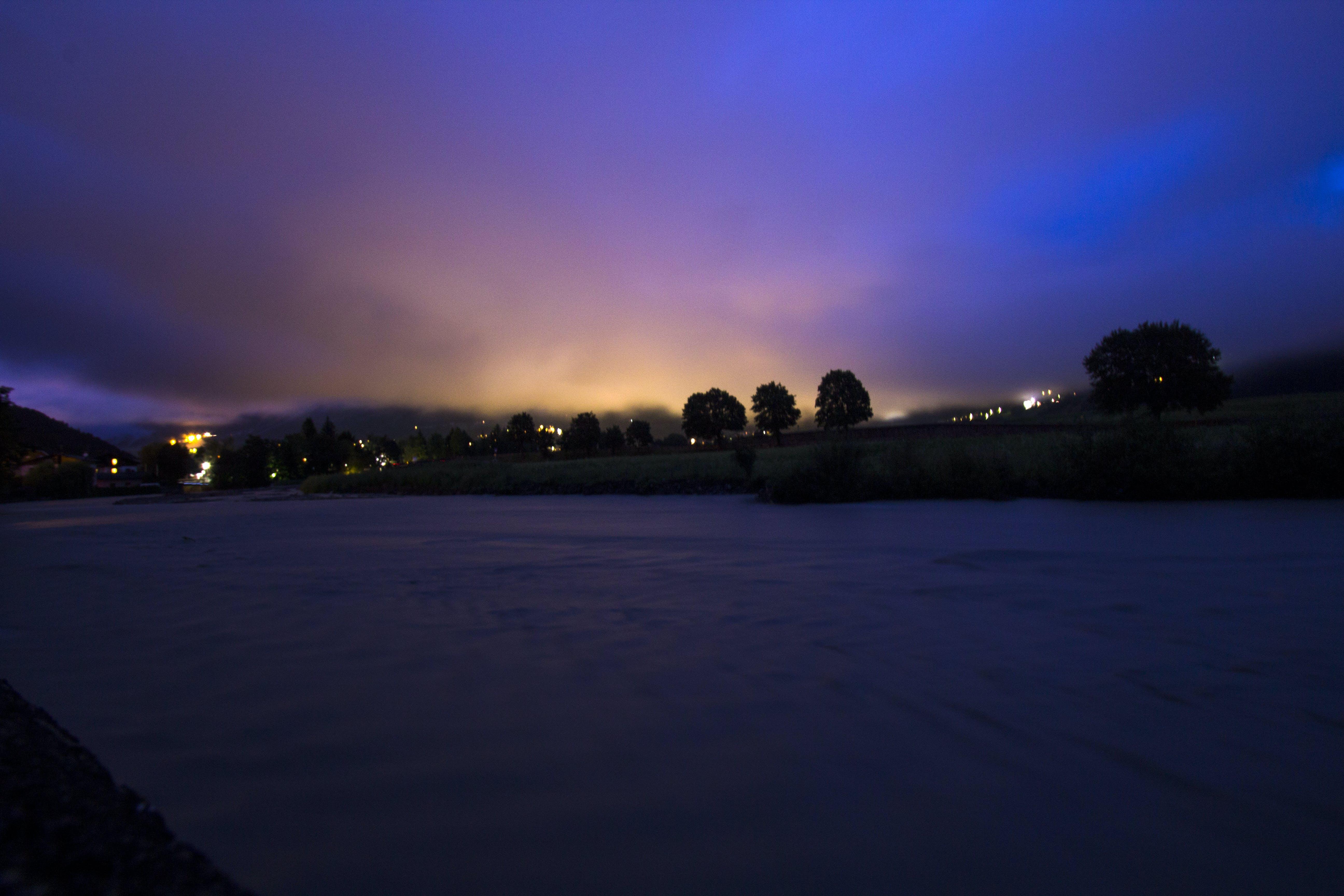 Free stock photo of alps, bormio, citylight, colours