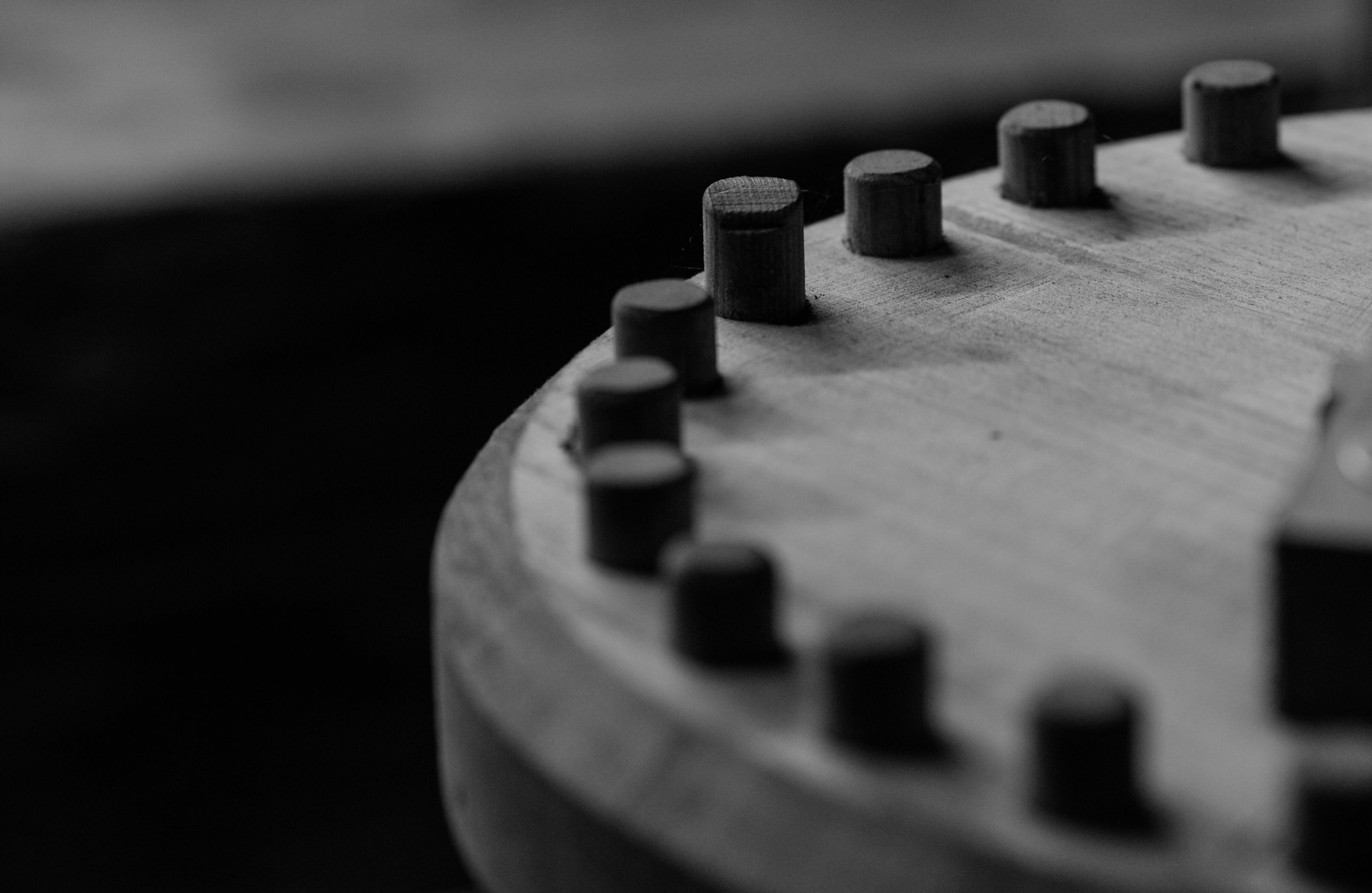 Close-up Photography of a Wooden Thing