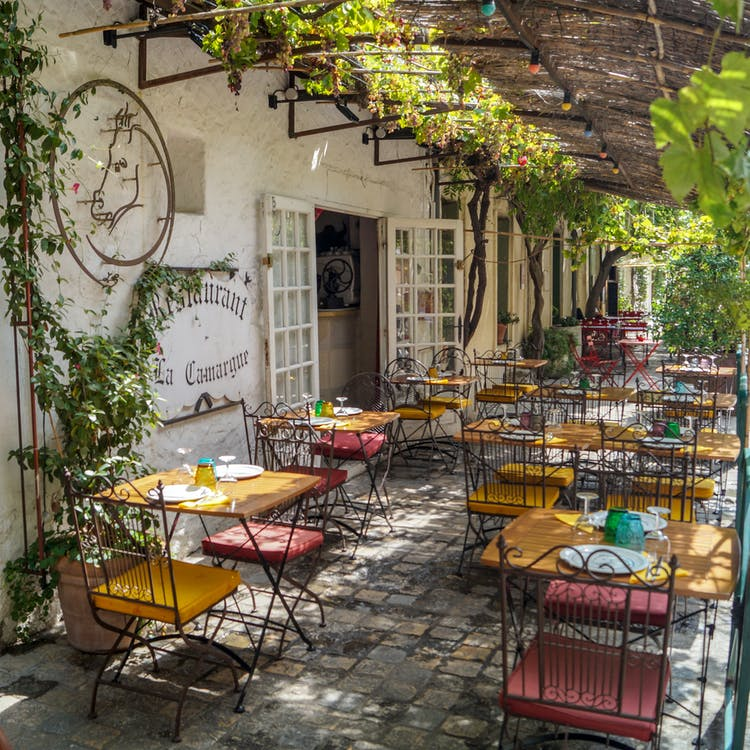 Free stock photo of architecture, bistro, chair