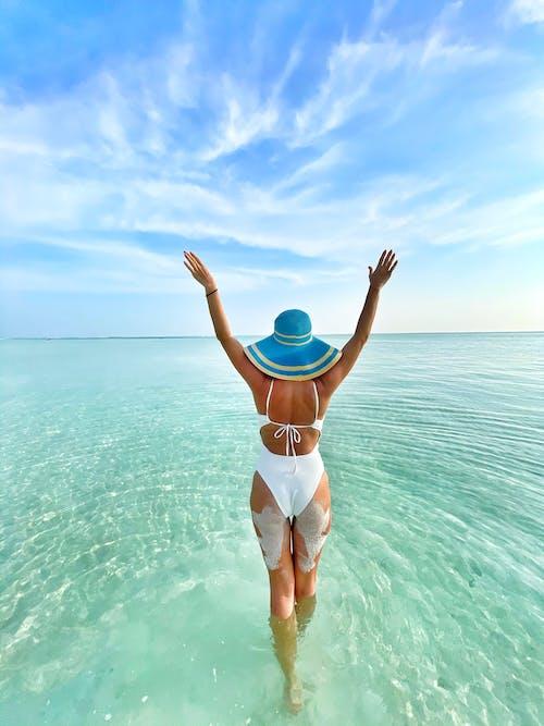 Free stock photo of beach, bikini, bronzing