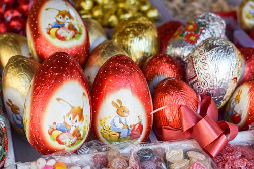 Free stock photo of easter, easter bunny, eggs