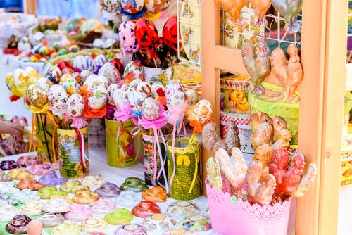 Free stock photo of colorful, fair, gifts