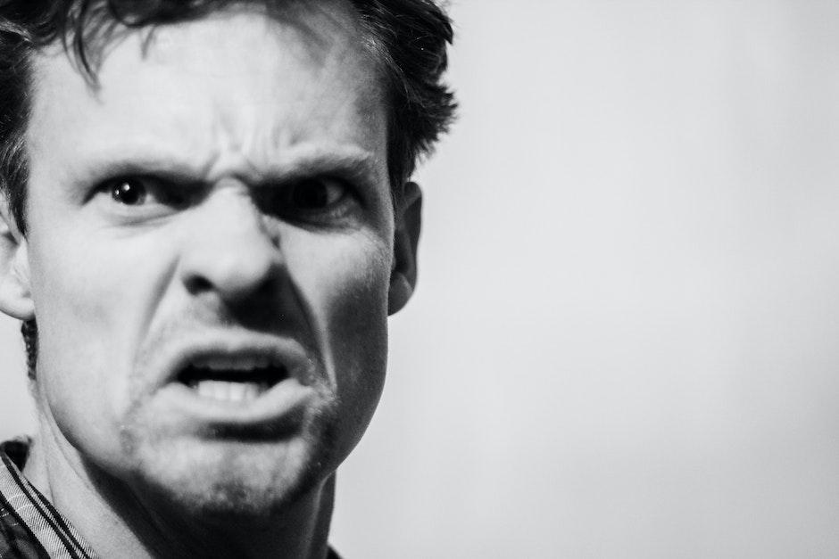angry, angry man, man