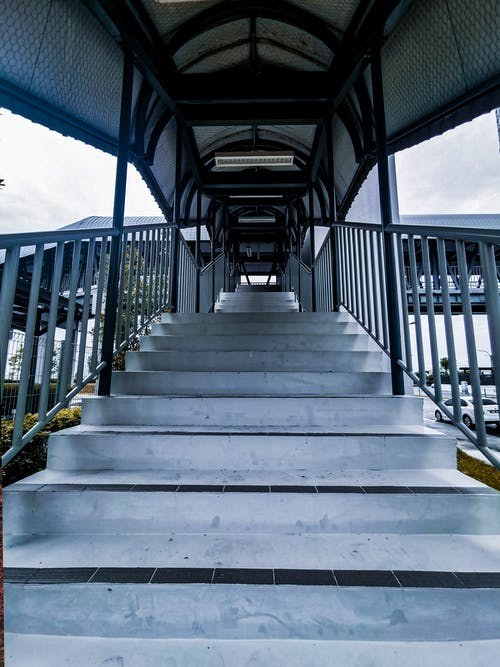 Free stock photo of business, cold, concrete stairs