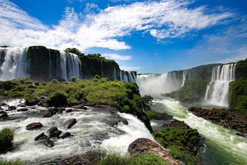 Бесплатное стоковое фото с cataratas do iguaçu, natureza, вода, водопад
