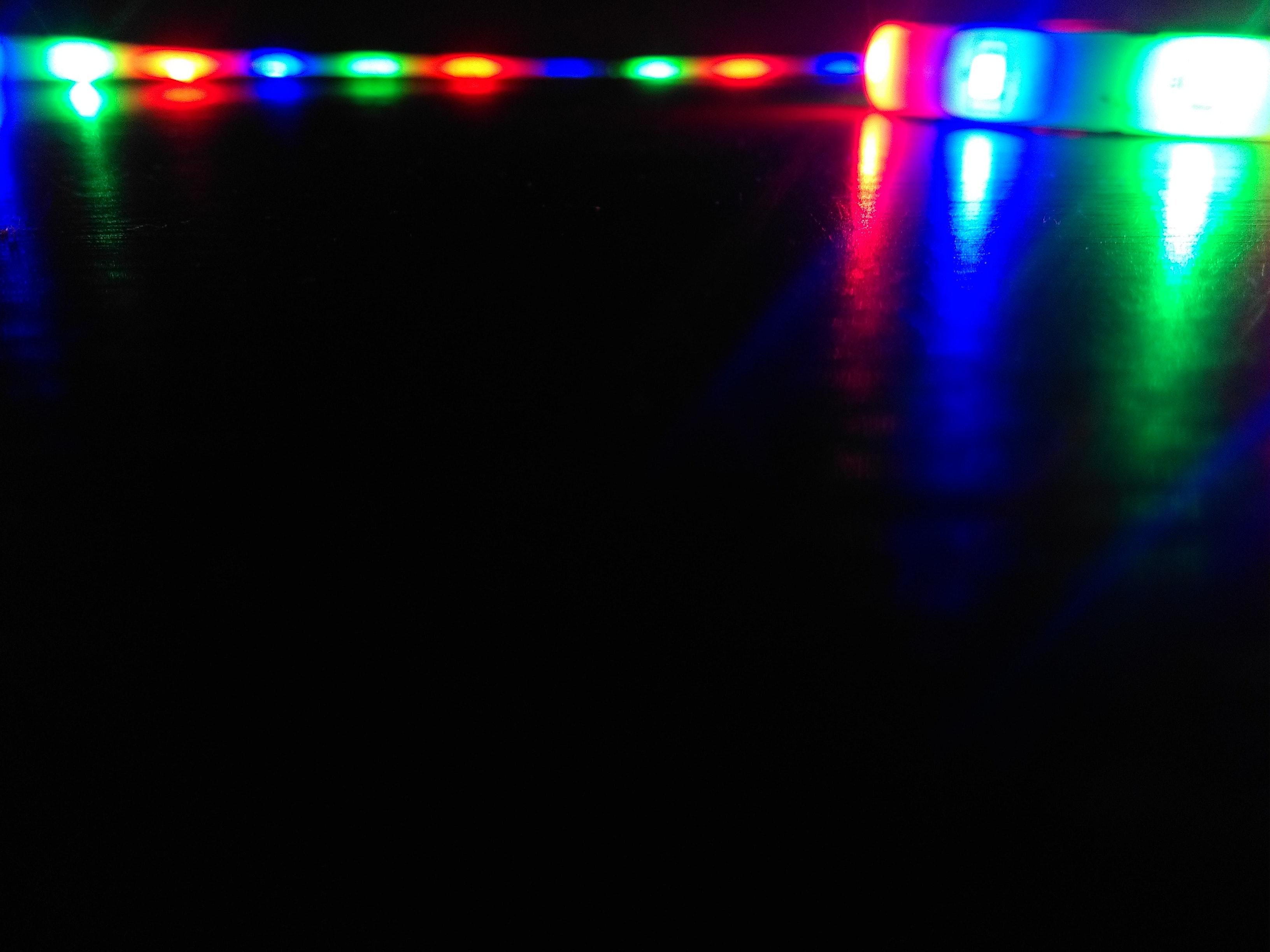 Kostenloses Foto zum Thema: led lichter, rgb