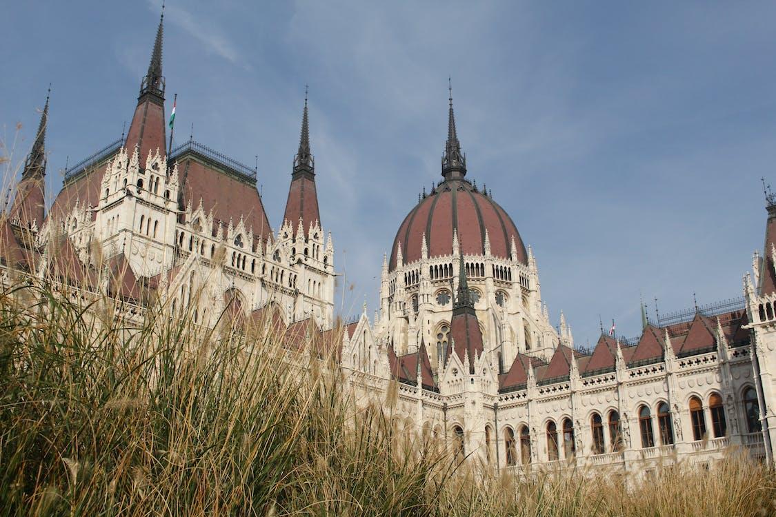 alacsony szögű felvétel, Budapest, dóm