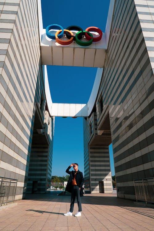 Kostnadsfri bild av arkitektonisk, arkitektoniska detaljer, olympiska spelen