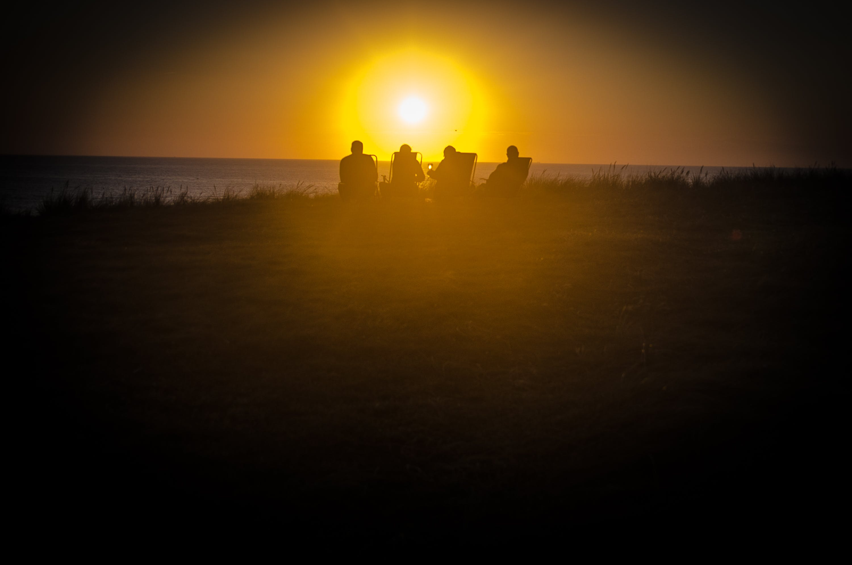 Free stock photo of denmark, sunset