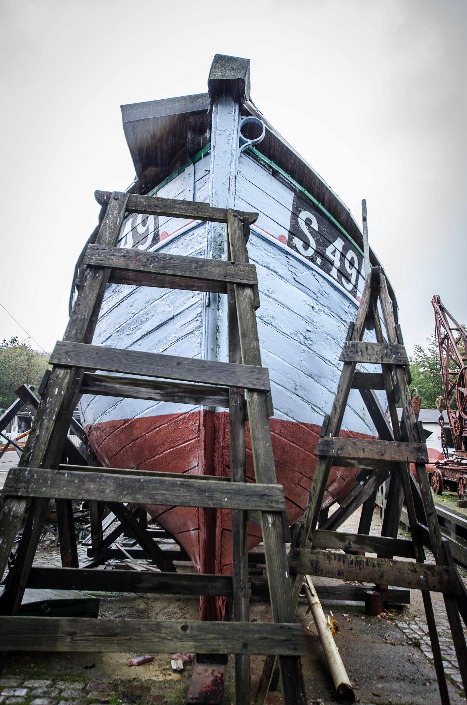 Free stock photo of construction, denmark, ship, wood