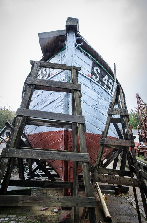 Gratis lagerfoto af byggeri, Danmark, skib, træ