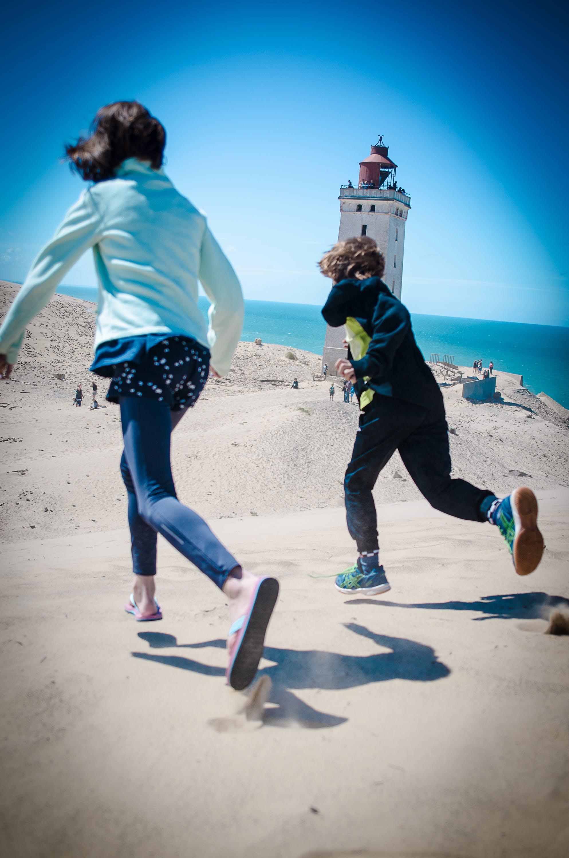 Free stock photo of denmark, dune, lighthouse, sand