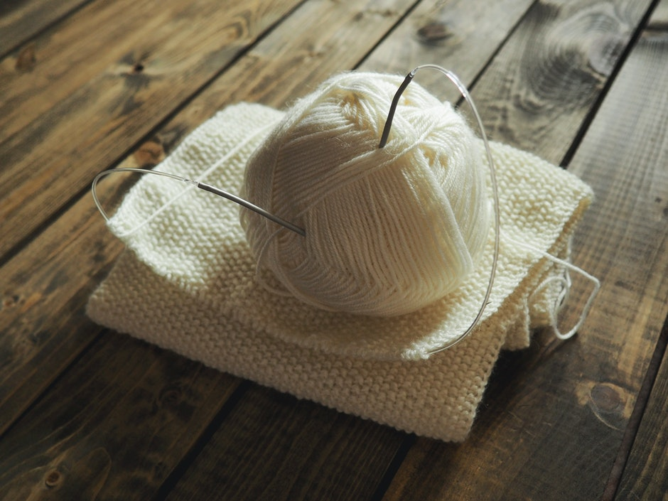 White Crochet on the Table