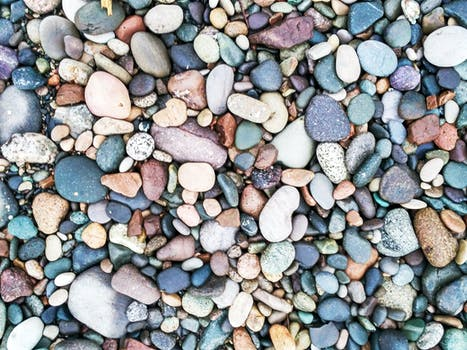 Assorted Colored Rocks