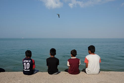 Free stock photo of hormuz island, iran, kids