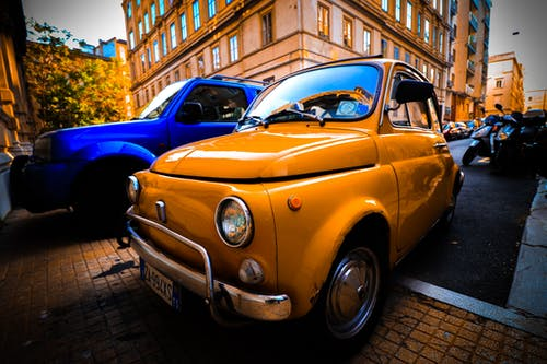 Photos gratuites de Fiat, italie, photo de rue, style