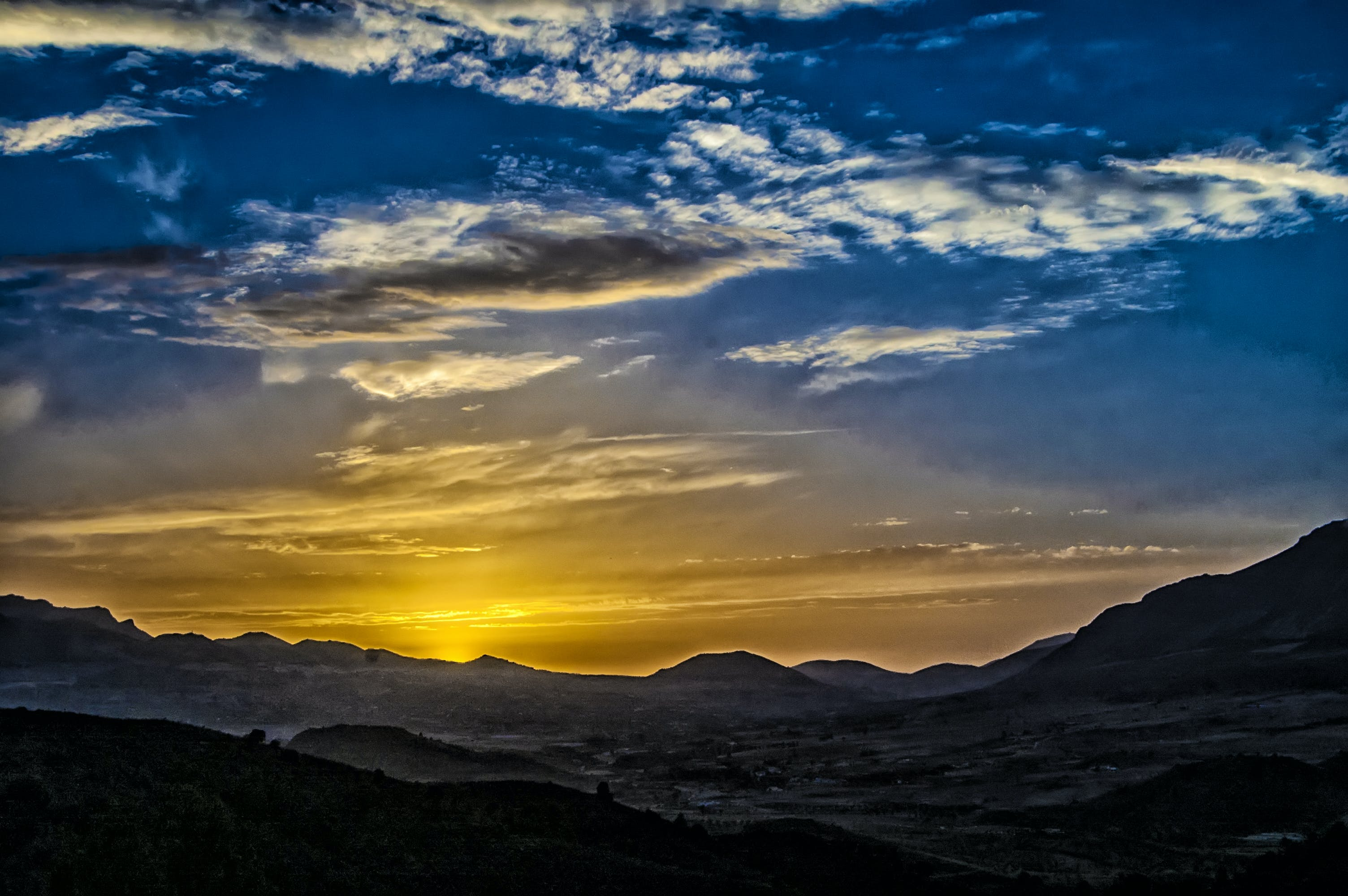 Kostenloses Stock Foto zu himmel, horizont, landschaft, natur