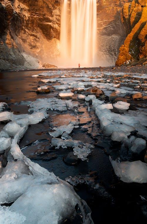 Gratis arkivbilde med elv, falle, fantastisk, forkjølelse
