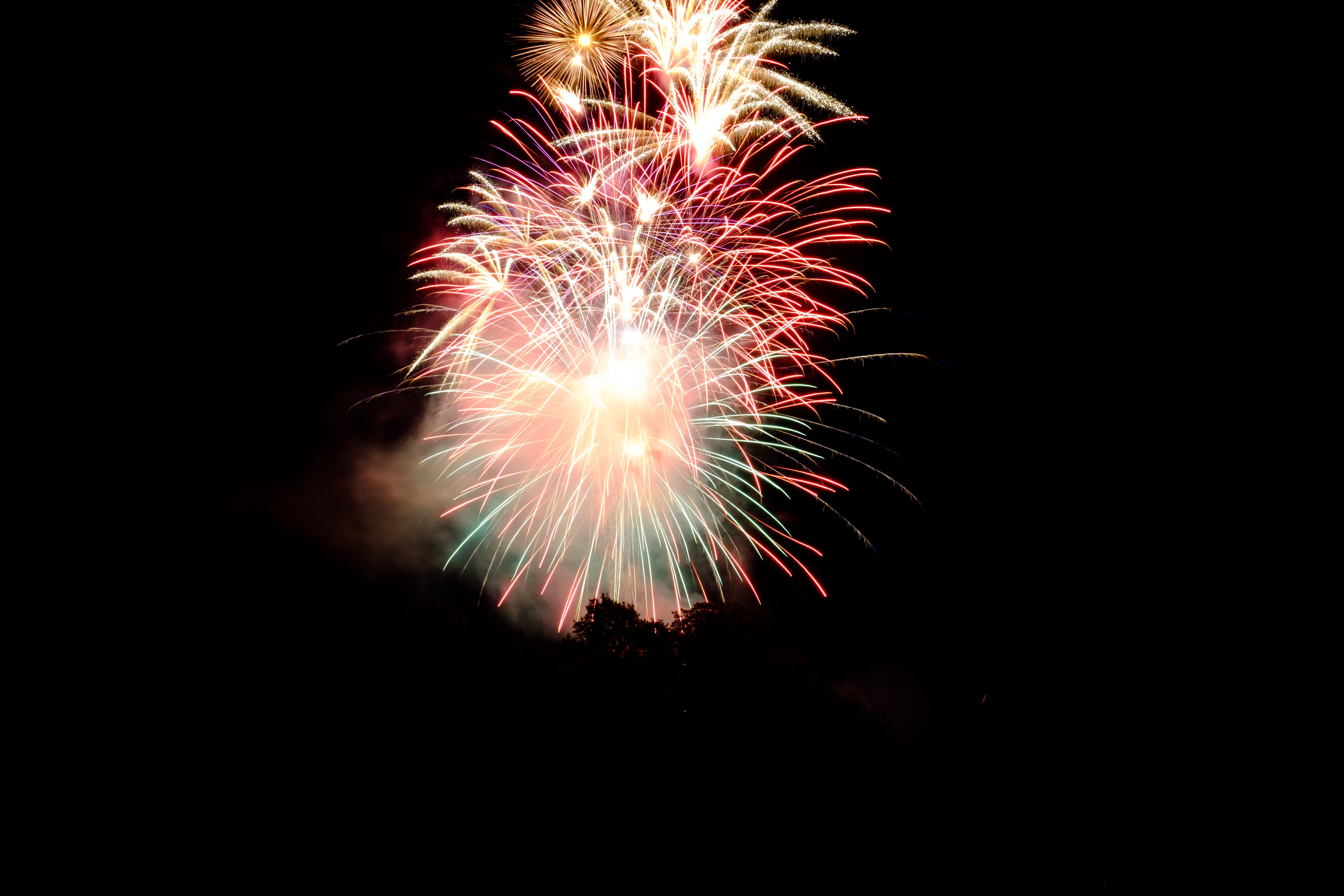Free stock photo of explosion, fire, firework, new year's eve