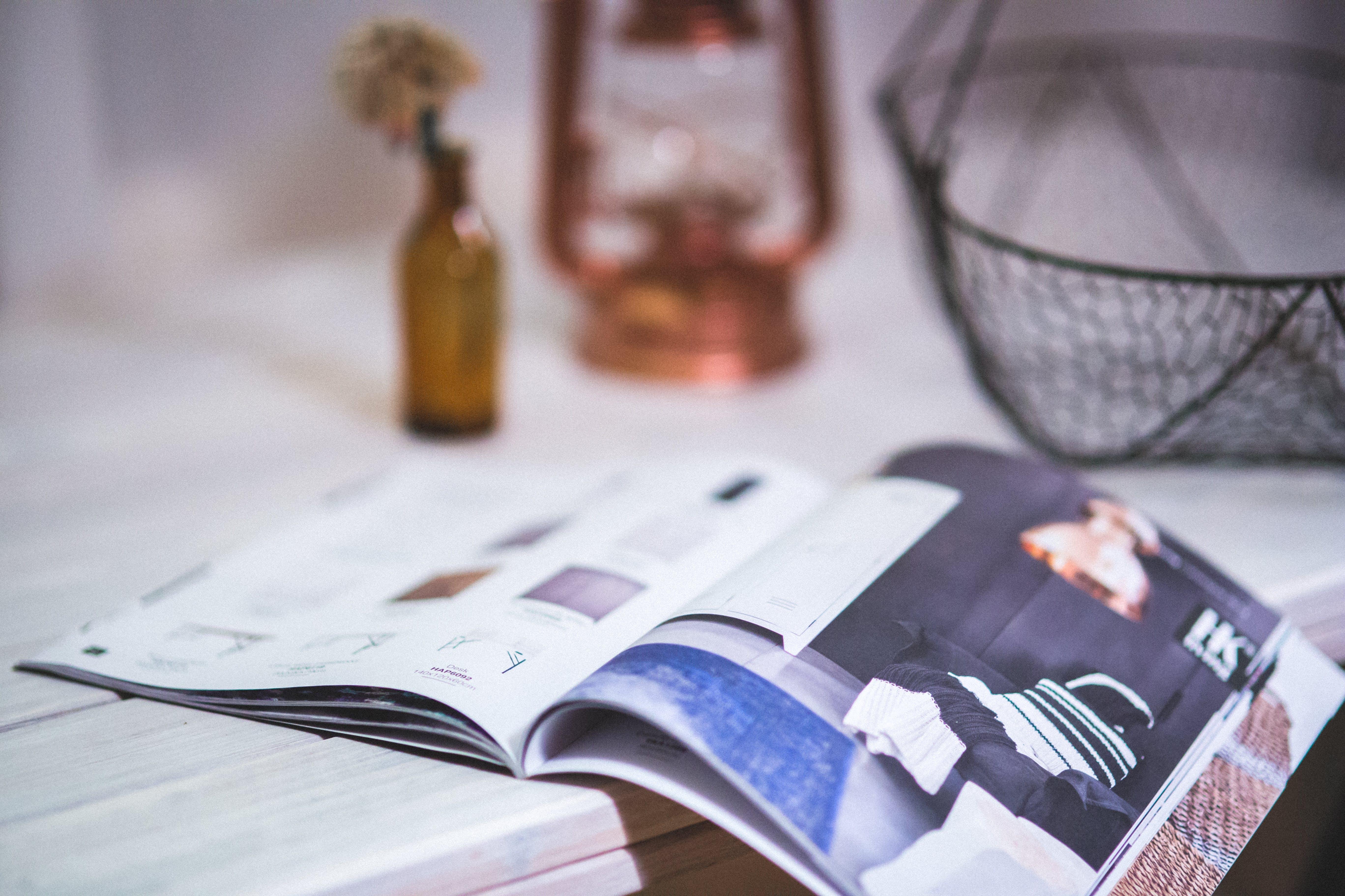 Detail of open magazine