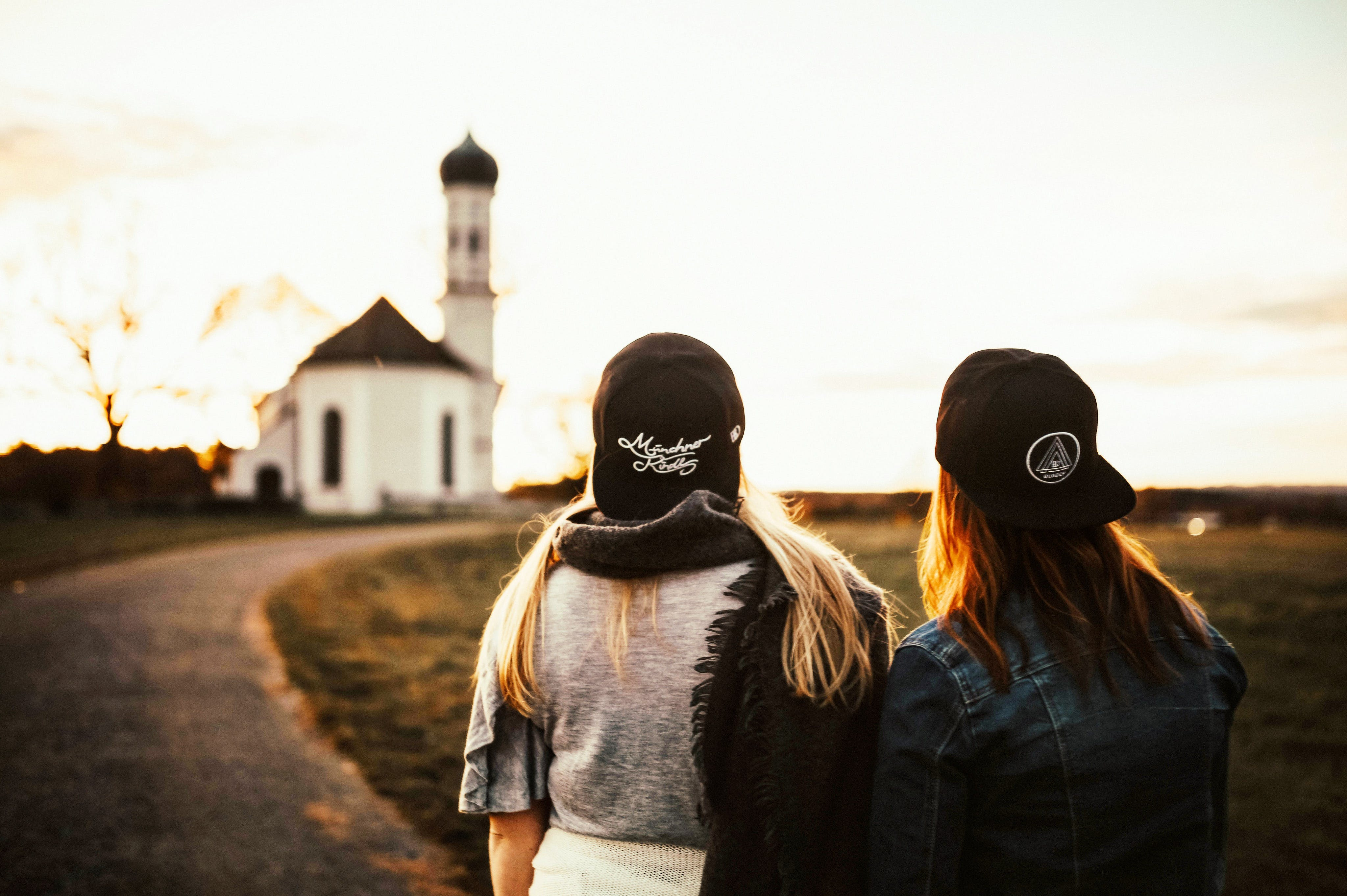 Woman Wearing Black Snapback Cap