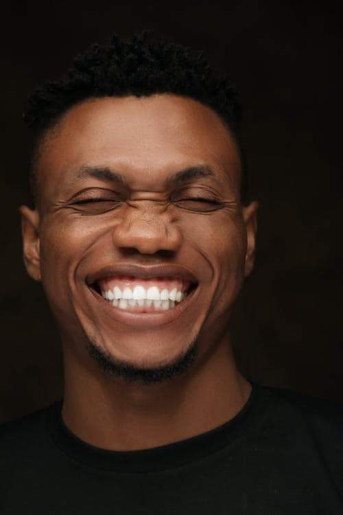 A Man With Pearly White Teeth