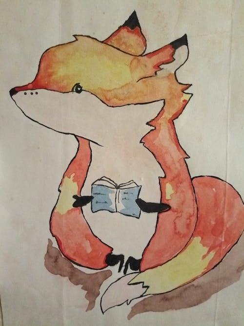 Free stock photo of beautiful fox art