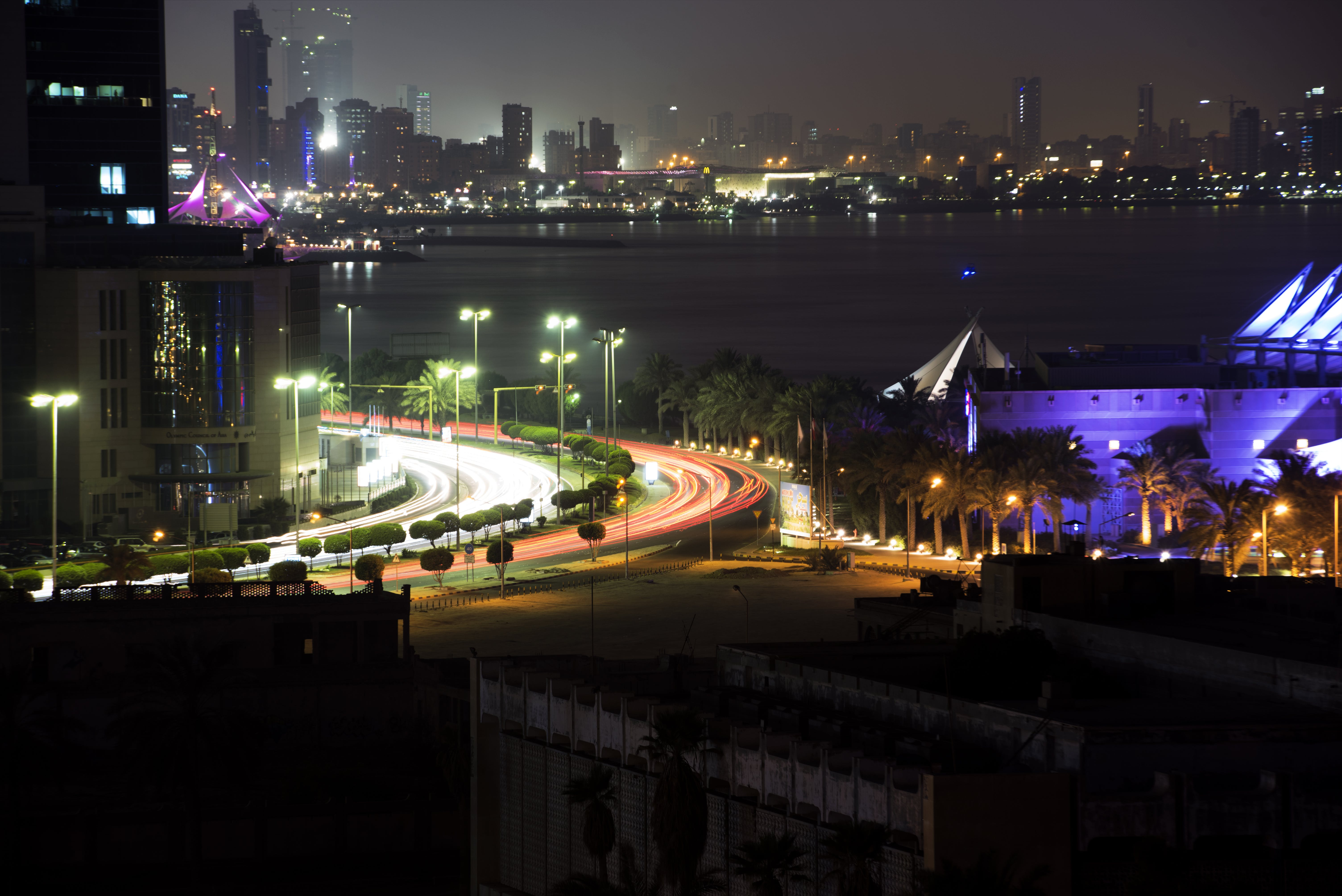 Free stock photo of cars, cityscape, kuwait, Middle east