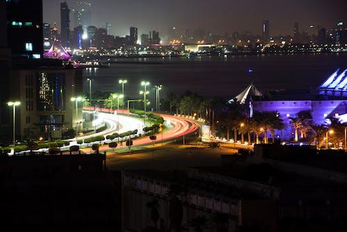 Gratis lagerfoto af biler, bylandskab, kuwait, mellem østen