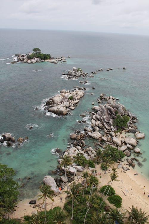 Δωρεάν στοκ φωτογραφιών με belitung, ακτή απότομων βράχων, ινδονησία, παραλία