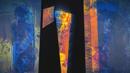 Ingyenes stockfotó ablak, ábra, absztrakt, absztrakt festmény témában