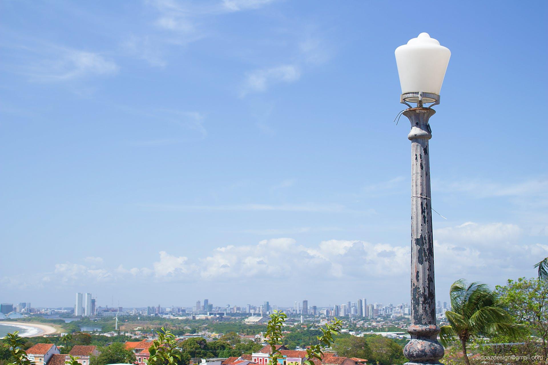 Free stock photo of bulb, city, cityview, high angle shot