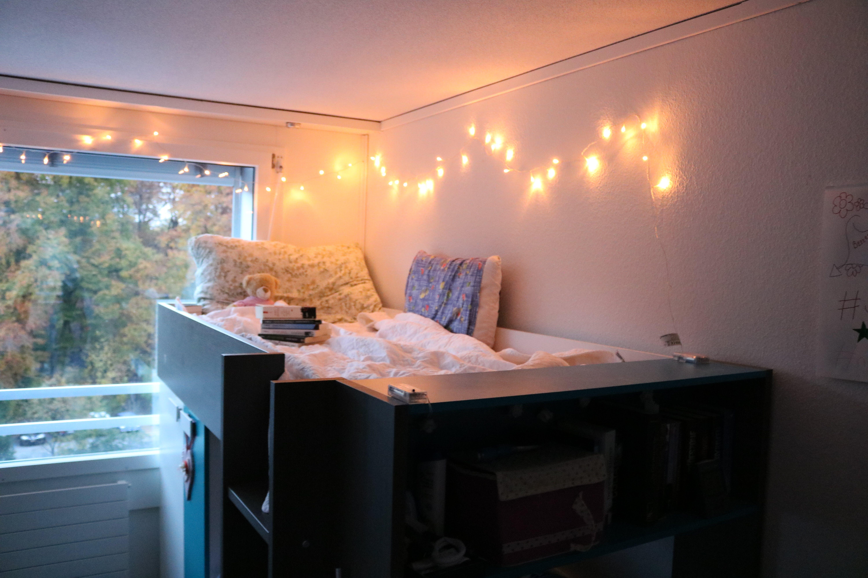 apartment, beautiful, bed