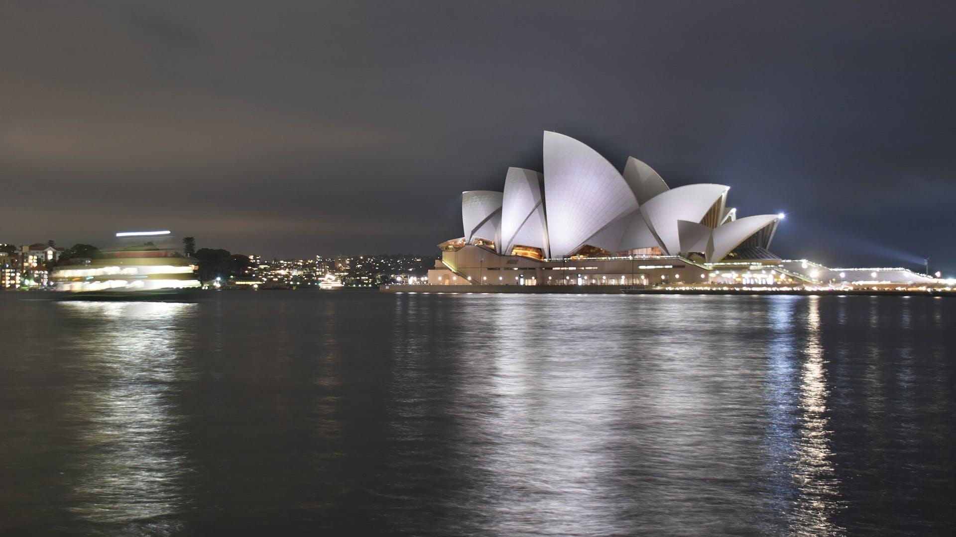 Free stock photo of sydney opera house