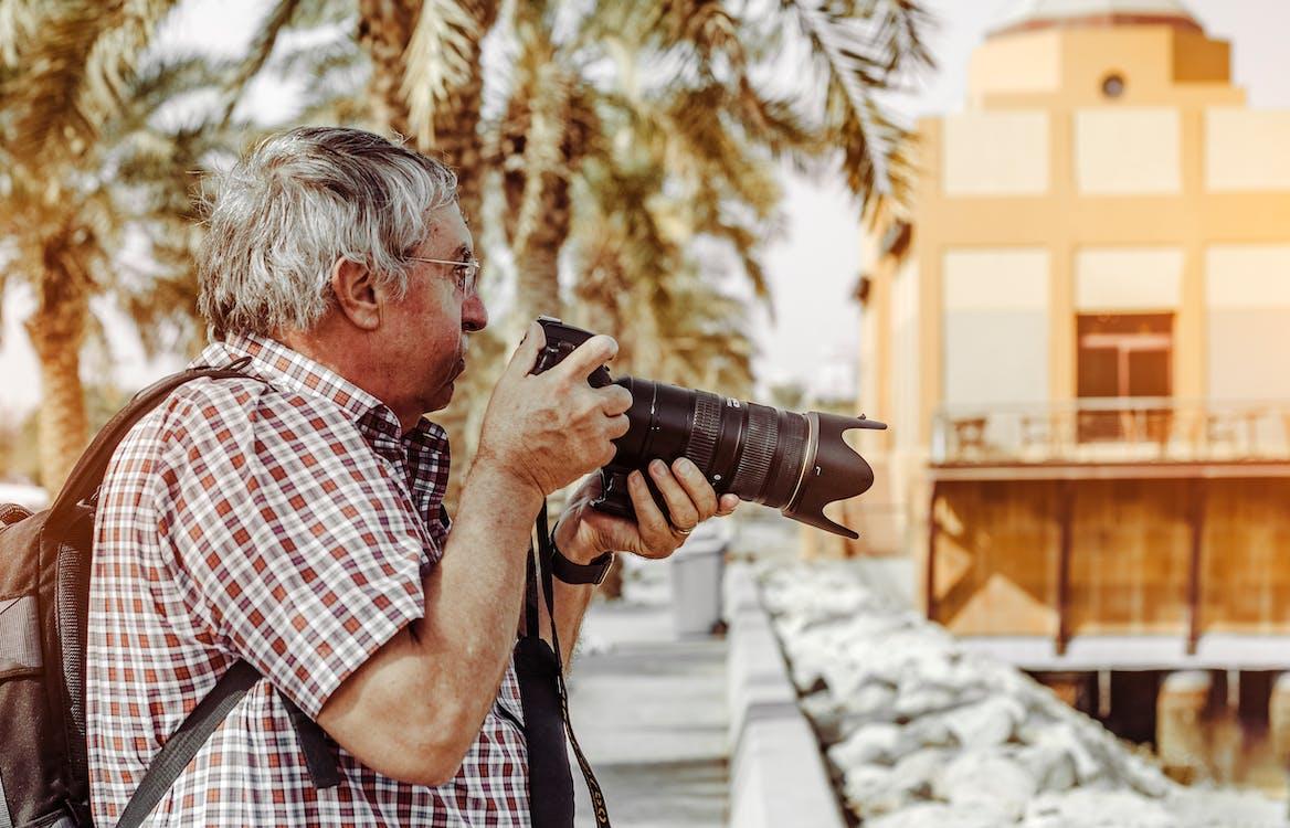camera, camera-apparatuur, cameralens