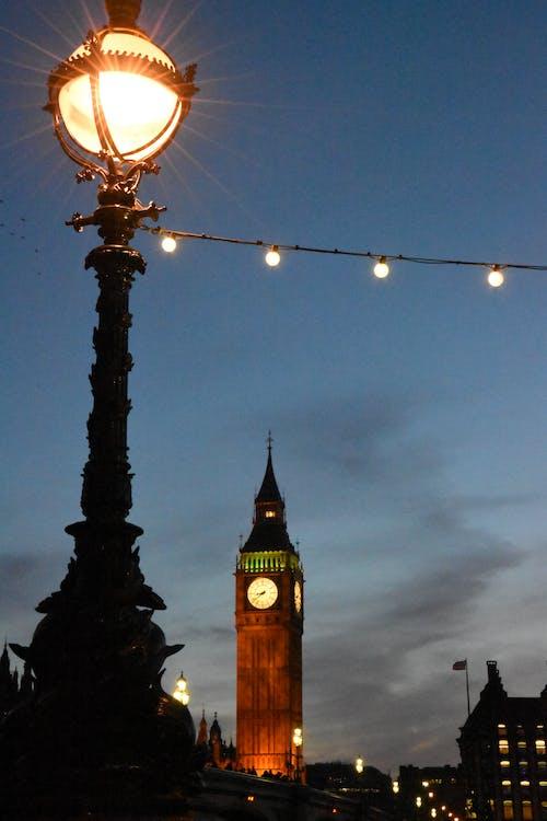 Free stock photo of big ben, london, night photography
