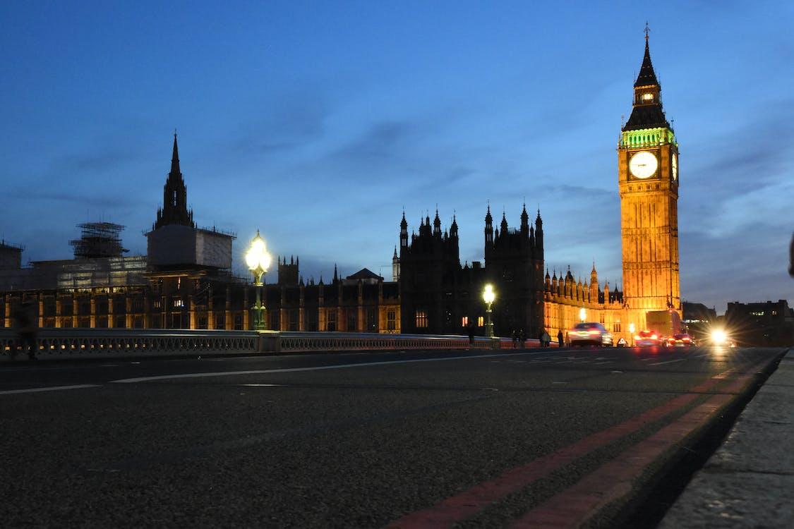 architektura, auta, Big Ben