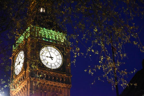 Free stock photo of big ben, london, night photography