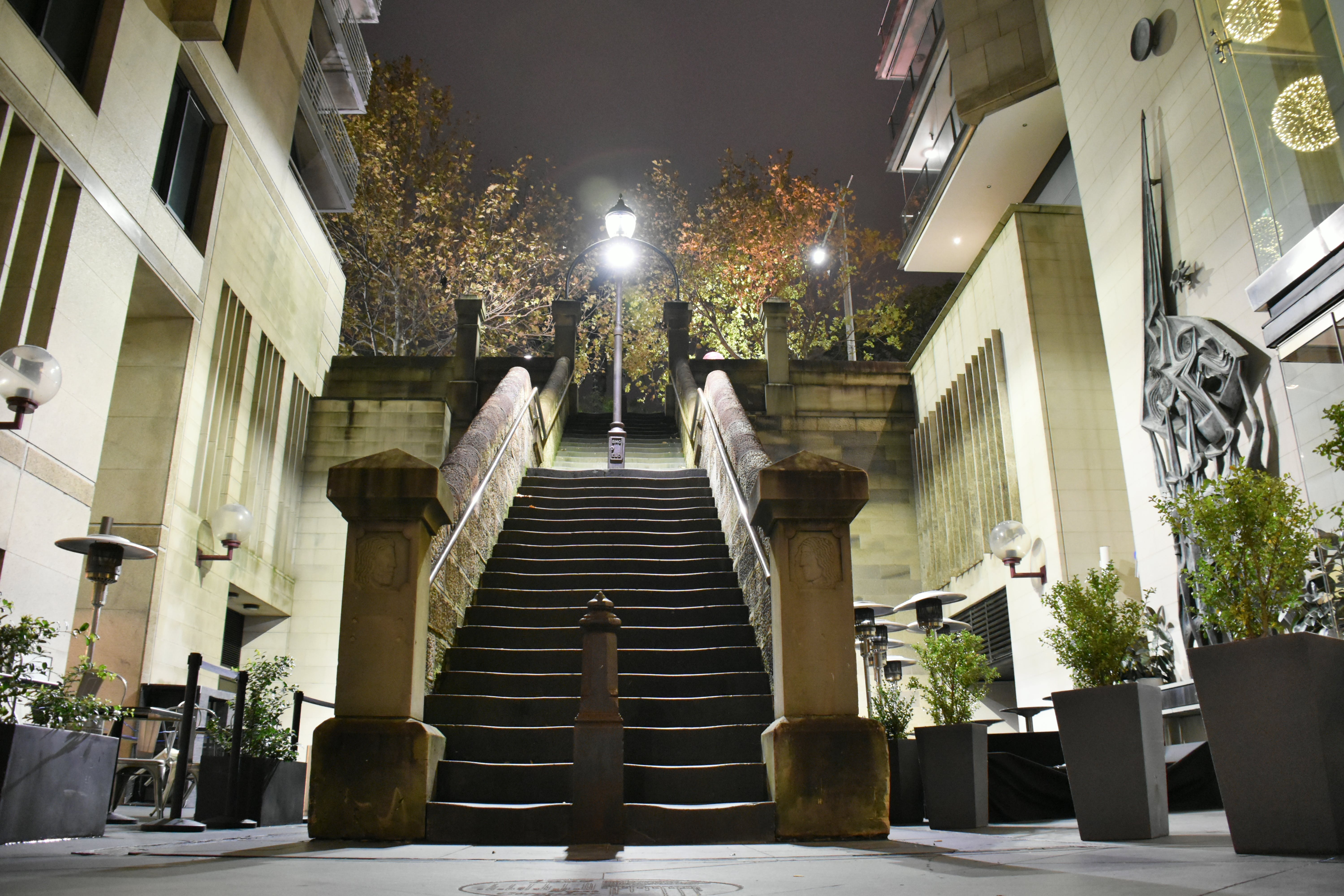 Free stock photo of night photography, stairs, sydney