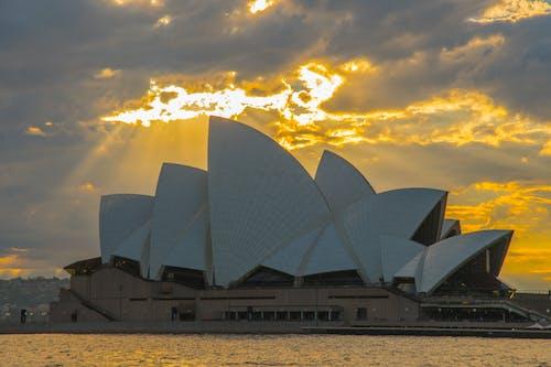 Free stock photo of sunrise, sydney opera house